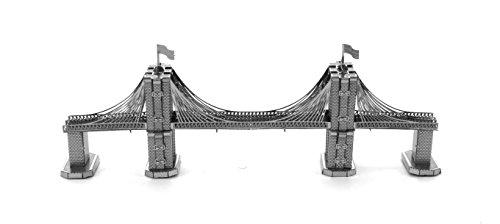 Fascinations Metal Earth Brooklyn Bridge 3D Metal Model Kit