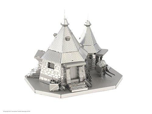 Fascinations Metal Earth Harry Potter Hagrids Hut 3D Metal Model Kit