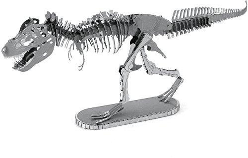 Fascinations Metal Earth Tyrannosaurus Rex Skeleton 3D Metal Model Kit