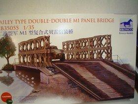 Bronco Baily Type Double-Double MI Panel Bridge 135 Scale Military Model Kit