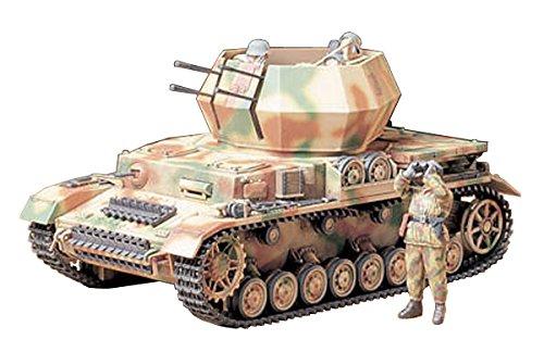 Tamiya German Flakpanzer IV Wirbelwind 135 Scale Military Model Kit