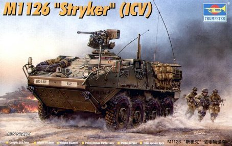 Trumpeter M1126 Stryker ICV 135 Scale Military Model Kit