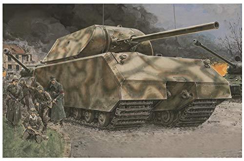 39-45 Series 135 Maus German Wwii Super-heavy Tank Model Kit