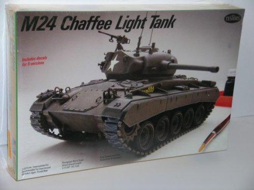 M24 Chaffee Light Tank---Plastic Model Kit