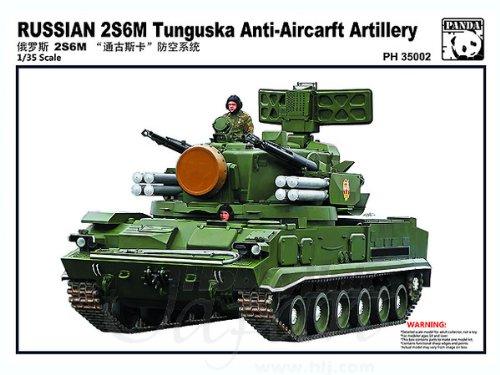 Panda PAN35002 135 Russian 2S6M Tunguska AA Tank Model KIT