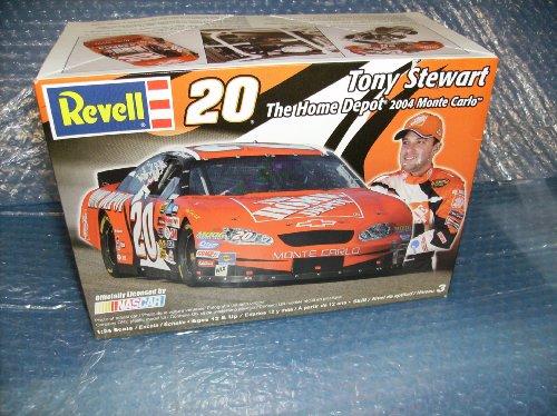 revell 124 scale -Tony Stewart 20 Model Car Kit Home Depot