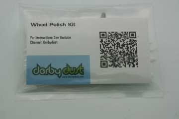 Pinewood Derby Wheel Polish Kit - Derby Dust by Derby Dust