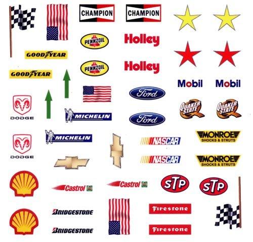 NASCAR Pinewood Derby Car Decals