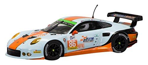Scalextric C3732 Porsche 911 Gulf Silverstone 2015 Elms Series Slot Car 132 Scale