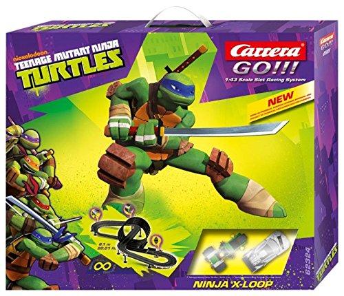 Carrera Go Teenage Mutant Ninja Turtles X-Loop Race Set