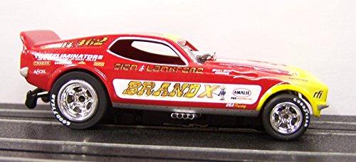 Legends Brand X Ford Mustang NHRA 4 Gear HO Electric Slot Car