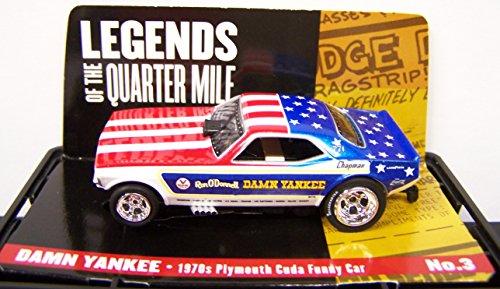 Legends Damn Yankee Cuda NHRA 4 Gear HO Electric Slot Car