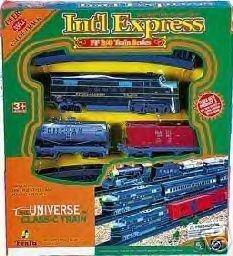 Intl Express Battery Operated Train Set 19 Pieces Fenfa FF B0 Train Series International Express by Intl Express