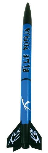 Estes 1300 Blue Ninja Flying Model Rocket Kit