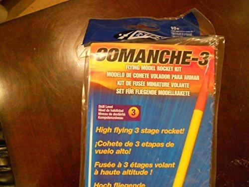 Estes Comanche-3 Flying Model Rocket Kit
