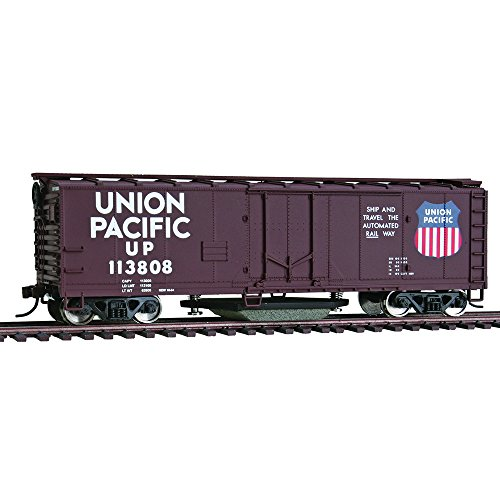 Walthers Trainline 40 Plug-Door Track Cleaning Boxcar - Union Pacific 11808 HO Scale