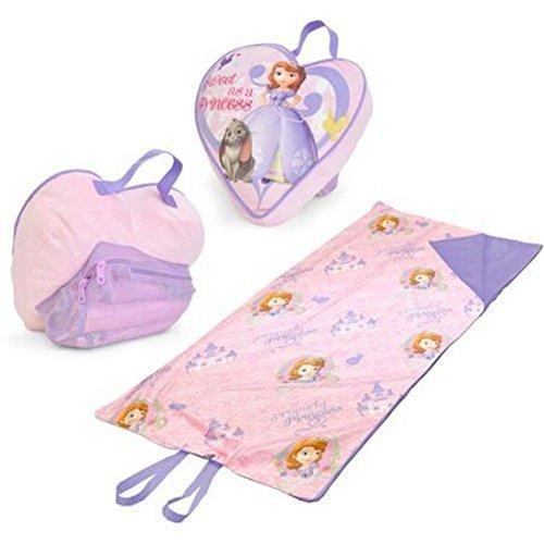 Disney Princess Sofia The First On-The-Go Pillow and Slumber Bag Set