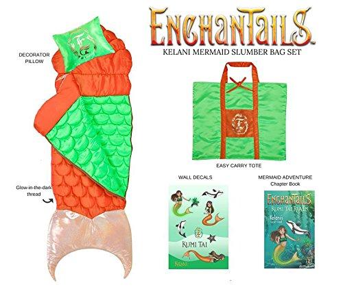 Mermaid Kelani 5pc Deluxe Slumber Bag Set