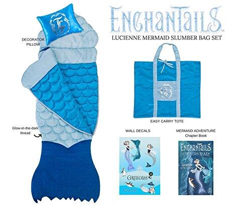 Mermaid Lucienne 5pc Deluxe Slumber Bag Set
