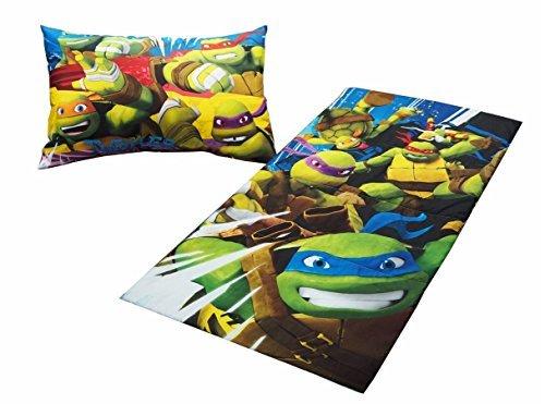 Nickelodeon Teenage Mutant Ninja Turtles Slumber Bag Set 2 Piece by Nickelodeon