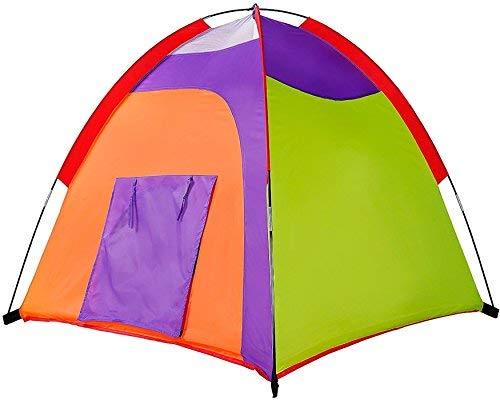 Alvantor Kids Tent Indoor Children Play Toy Toddler Pop up Outdoor Games Colourful Curvy Patent 48x48x42