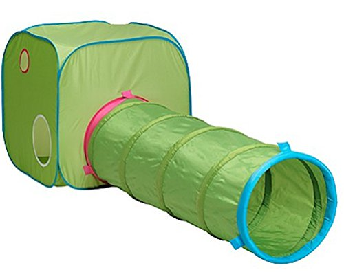 Indoor Child Tent includes IKEA Kids Tunnel and IKEA Play Tent - 18 Month Up