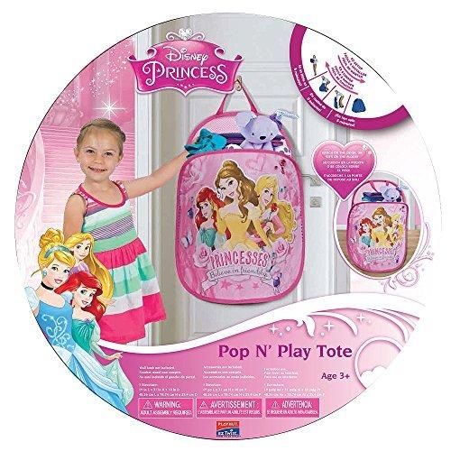 Playhut Pop N Play Laundry Tote - Disney Princess