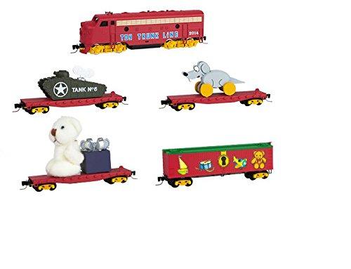 Micro Trains Z 99421050 Christmas Toy Trunk Line Train Set