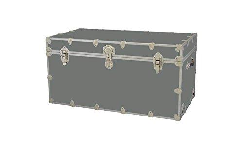 Toy Trunk - Silver Super jumbo 44 W x 24 D x 22 H 69 lbs