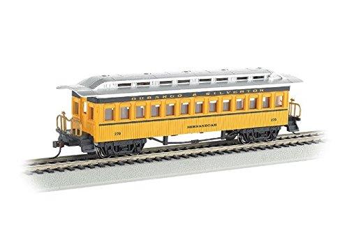 Bachmann Hobby Train Passenger Car Prototypical Yellow