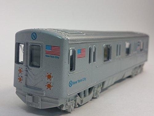 Metro NYC New York City 7 N Line Train Subway Car 1100 Scale Diecast