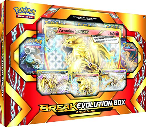 TCG Break Evolution Box Featuring Arcanine Card Game