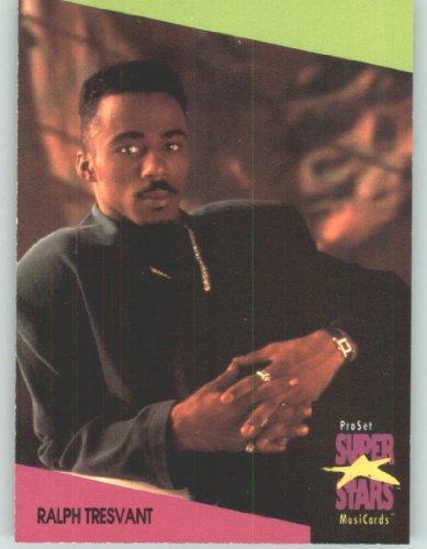 1991 Pro Set Superstars MusicCards UK Edition  138 Ralph Tresvant Collectible Pop Music  Rock Star Trading Card