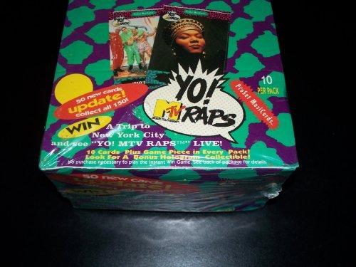 Yo MTV Raps Proset Music Cards Box by MTV