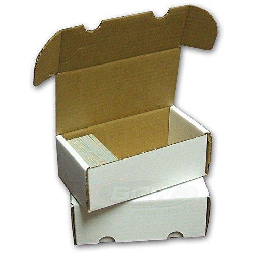 3 BCW 400 Card Storage Box Gaming - Trading - Sports Cards -YU-GI-OH - Dragon Z - Magic The Gathering - MTG - Pokemon - Baseball - Hockey - Basketball - Football - Soccer