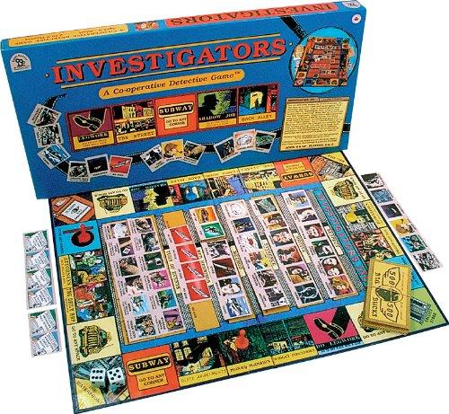 Family Pastimes Investigators - A Co-operative Detective Game