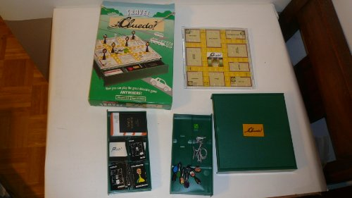 Travel Cluedo 1994 Edition -Now You Can Play the Great Detective Game Anywhere