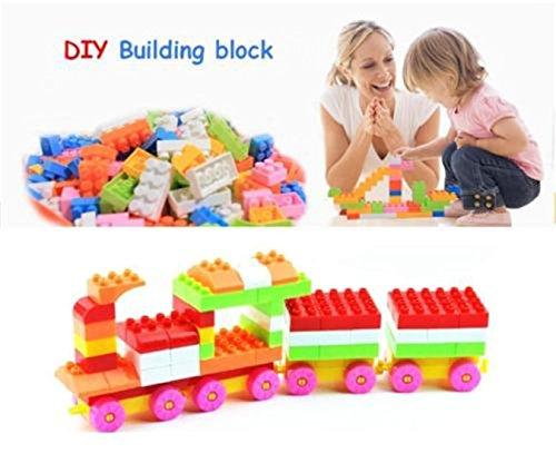 240pcs Mixed Color Kids Puzzle Building Blocks Bricks Educational Intellectual Toys