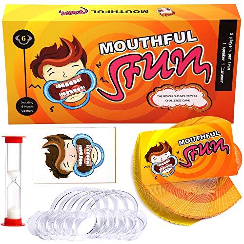 Mouthful Fun Hilarious Mouth Guard Party Game