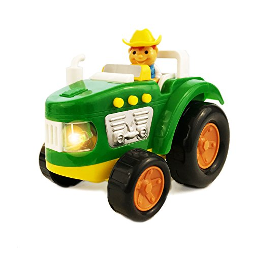 Boley Farm Tractor Toy with Lights and Sound - Educational toy for toddlers that seek pretend play - Great addition to your kids John Deere Toys