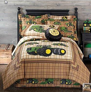 John Deere Tractor Boys Full Comforter Pillow Shams Bed Skirt 4 Piece Bed In A Bag  Homemade Wax Melt