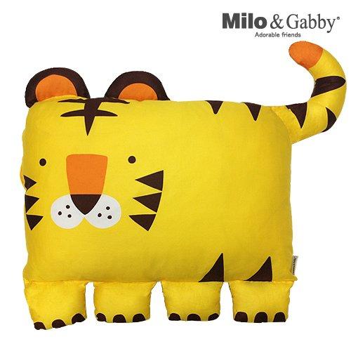 The Original Milo Gabby Kids Animal Pillowcase for Boys Tom the Tiger Pet Pillow Sham for Children