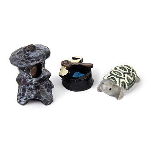 No brand goods miniature dollhouse interior resin bonsai craft garden landscape decoration props DIY turtle