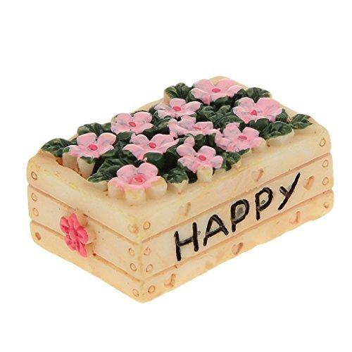 No brand goods ten ten miniature dollhouse interior miniature garden for resin bonsai craft garden landscape decoration props flower basket