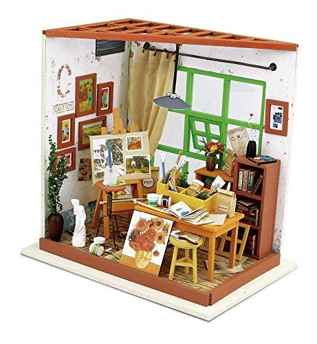 Creationtop DIY kit Wooden Handmade Dollhouse Miniature