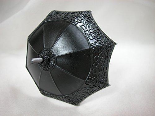 Heidi Ott Dollhouse Miniature 1 12 Scale Black Umbrella XZ789 Black