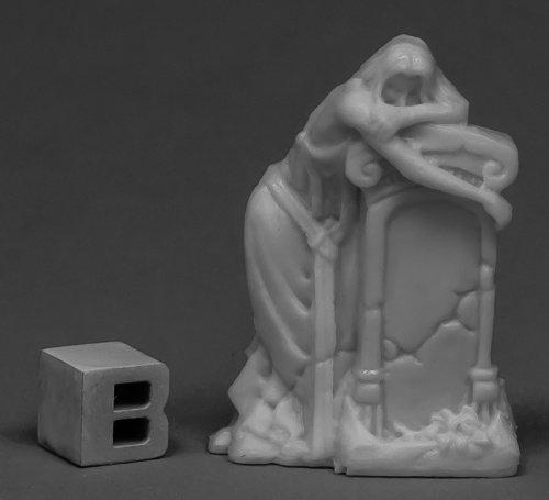 Reaper Miniatures Gravestone of Sorrow 77538 Bones Unpainted RPG D&D Figure