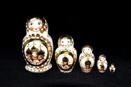 Matryoshka Nesting Doll5 pcZzenka