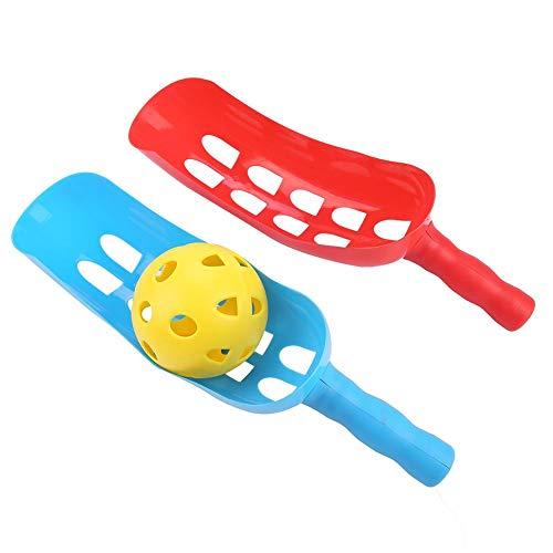 Alomejor Scoop Ball Kids Throw Catch Ball Games Set Children Toy Ball Toss Set Outdoor Sports Gifts for Kids