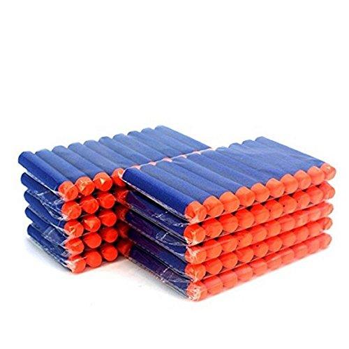 100 Pcs 72cm Blue Foam Darts for Blasters Toy Gun